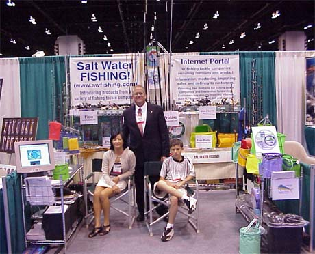 Asa icast 99 chicago show for Chicago fishing show